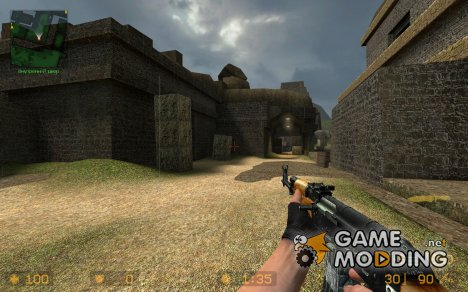 Fixed: Ghetto Style Maddi's AK47 Default Anims для Counter-Strike Source