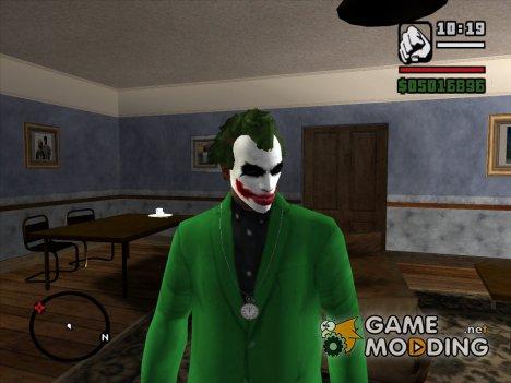 Макияж Джокера V2 для GTA San Andreas