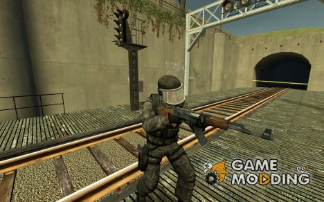 Digital Gign Reskin для Counter-Strike Source