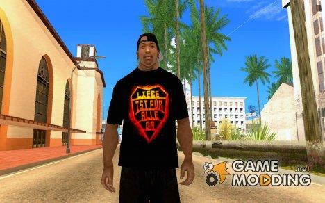 Футболка «Rammstein» for GTA San Andreas