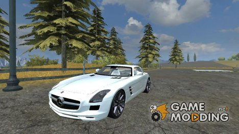 Mercedes-Benz SLS AMG v 2.0 for Farming Simulator 2013