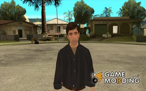 Tony Montana в Рубашке for GTA San Andreas