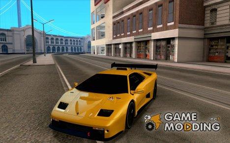 Lamborghini Diablo GTR V1.0 1999 for GTA San Andreas