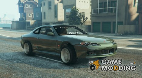 Low Nissan S15 (Wide and Camber) 0.1 for GTA 5