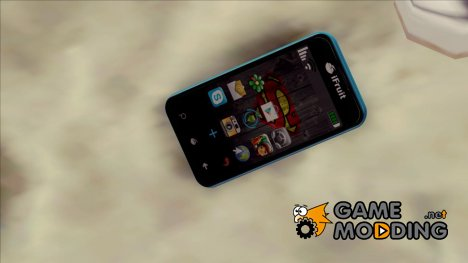 iFruit 7 (Michael phone from GTA 5) для GTA San Andreas