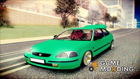 Honda Civic HB для GTA San Andreas