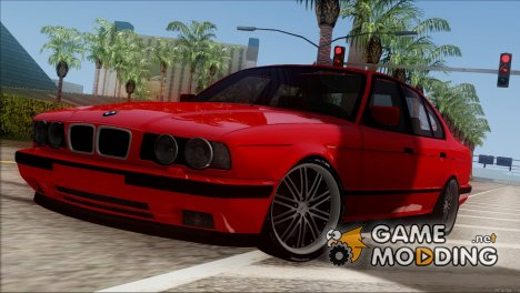 BMW M5 E34 BUFG Edition (Full 3D) для GTA San Andreas