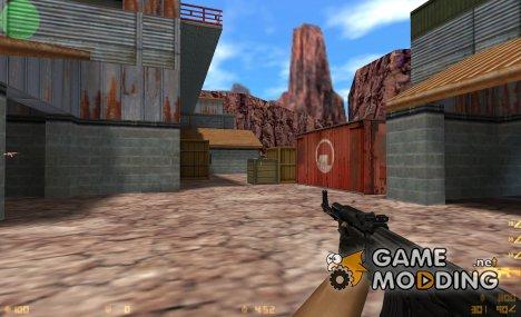 BLACK HD AK-47 for Counter-Strike 1.6