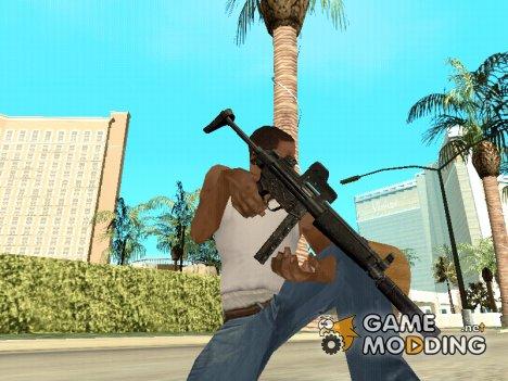 Black MP5 for GTA San Andreas