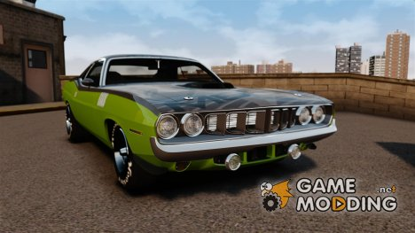 Plymouth Cuda 1971 [EPM] Mopar for GTA 4