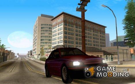 Ford Escort GLX для GTA San Andreas
