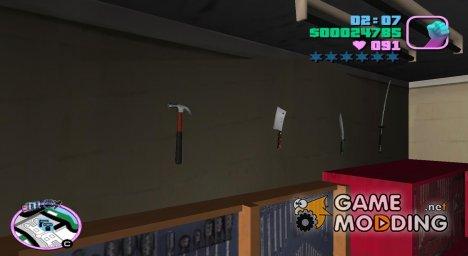 Столярный молоток for GTA Vice City