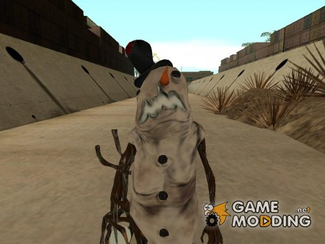 Snowman zombies for GTA San Andreas