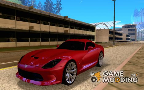 SRT Viper GTS V 2012 for GTA San Andreas
