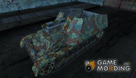 Шкурка для Hummel для World of Tanks