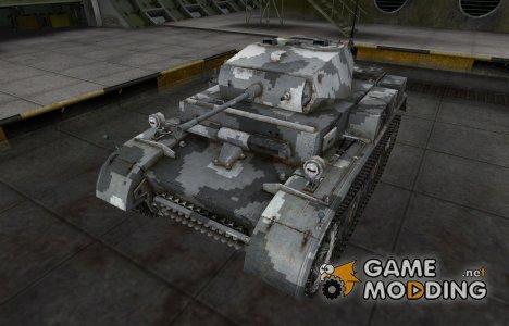 Камуфлированный скин для PzKpfw II Luchs for World of Tanks