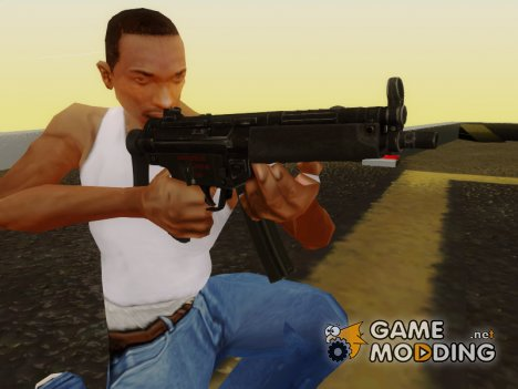Escape From Tarkov MP5 для GTA San Andreas