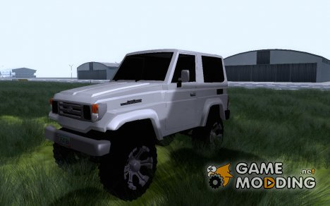 Toyota Machito Fj70 2009 Tuning for GTA San Andreas