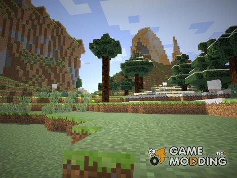 Пак шейдеров для Minecraft