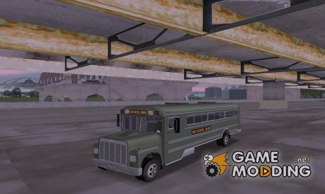 School bus HD v1 for GTA 3