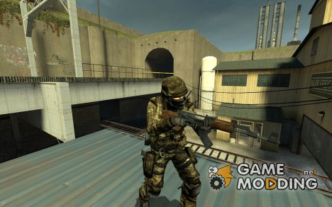 Woodland CT для Counter-Strike Source