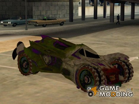 Jokermobile from DC Comics для GTA San Andreas