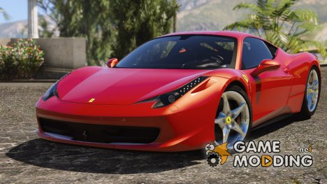 Ferrari 458 Italia AUTOVISTA 3.0 for GTA 5
