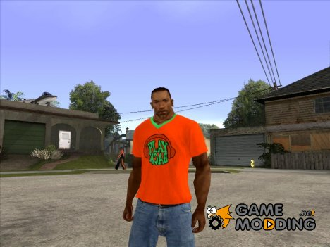 CJ в футболке (Playback) for GTA San Andreas
