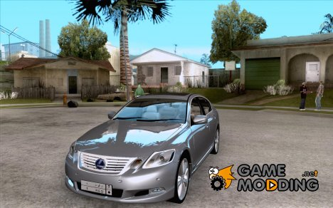 Lexus GS450h 2011 for GTA San Andreas
