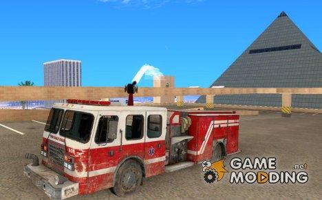 Пожарная машина из COD MW 2 для GTA San Andreas
