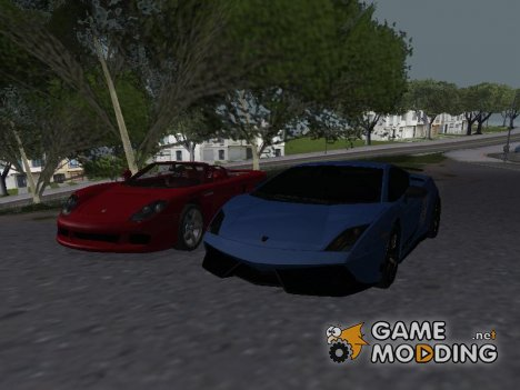 Пак спортивных авто для GTA San Andreas