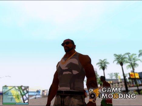 Камуфляжная майка for GTA San Andreas