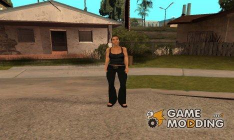 Каталина из cutscene.img for GTA San Andreas