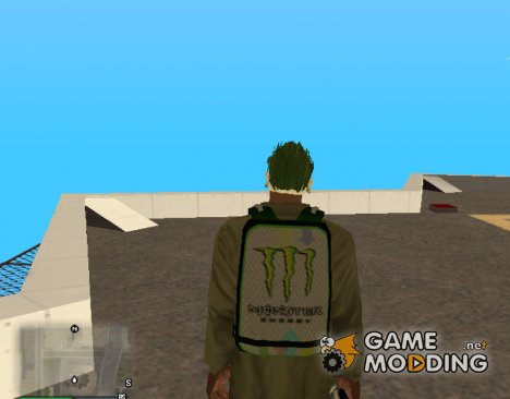 Новенький парашют для GTA San Andreas
