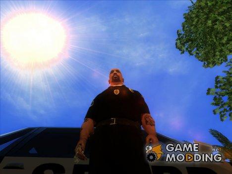Жетон полиции города Карцер Сити for GTA San Andreas