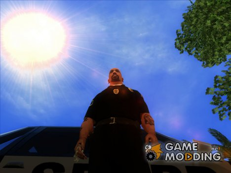 Жетон полиции города Карцер Сити для GTA San Andreas