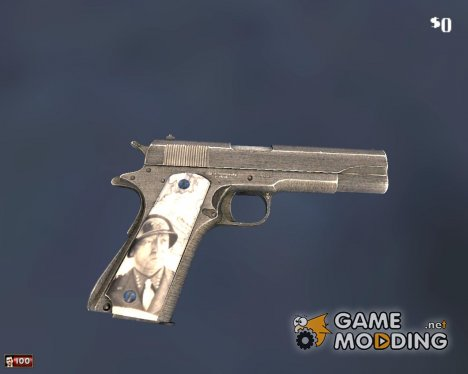 "Colt 1911 ""General Patton"" for Mafia: The City of Lost Heaven"