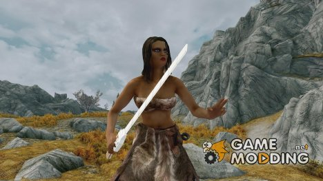 Attack on titan sword для TES V Skyrim