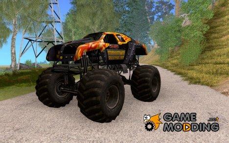 Monster Truck Maximum Destruction for GTA San Andreas
