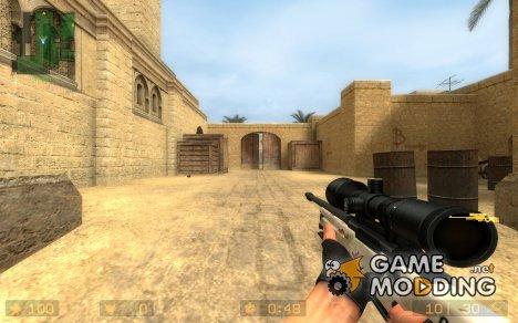Camo_Awp для Counter-Strike Source