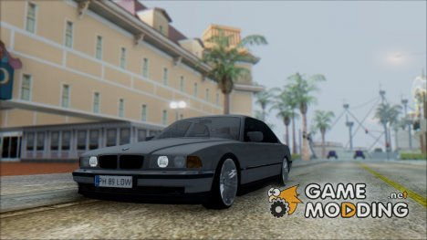 BMW E38 750il Romanian Edition для GTA San Andreas