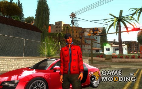 Darius из Need For Speed Carbon для GTA San Andreas