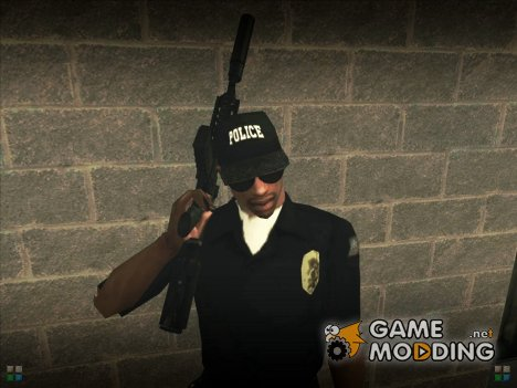 Кепка Police for GTA San Andreas