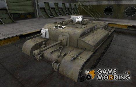 Зоны пробития контурные для AT 8 для World of Tanks