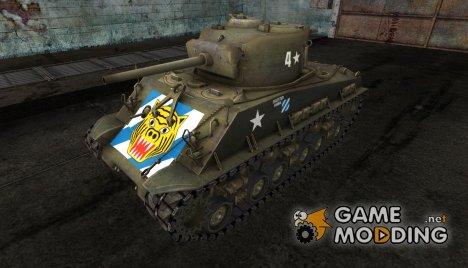 Шкурка для M4A3E8 Sherman for World of Tanks