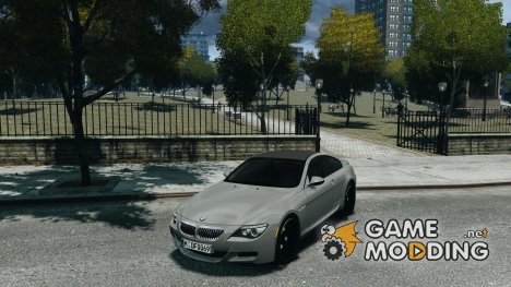 BMW M6 2010 v1.5 for GTA 4