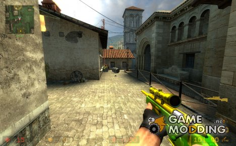 multi colour scout for Counter-Strike Source