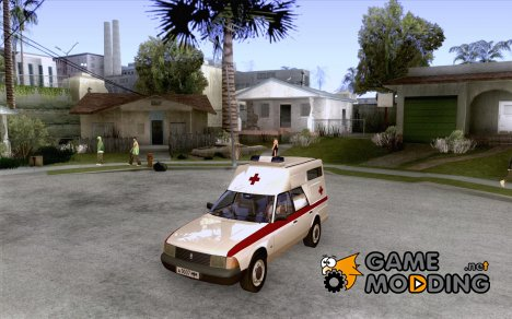 АЗЛК 2901 скорая помощь for GTA San Andreas