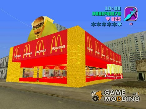 Mcaonalds for GTA Vice City