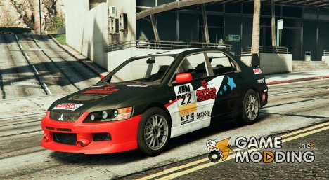 Mitsubishi Lancer Evolution IX v0.1 for GTA 5